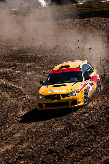 driveitlikeustoleit:  WRX Wagon Rally car by Brian Laiche on Flickr.  I've never seen a wagon rally car but that looks geewwwd