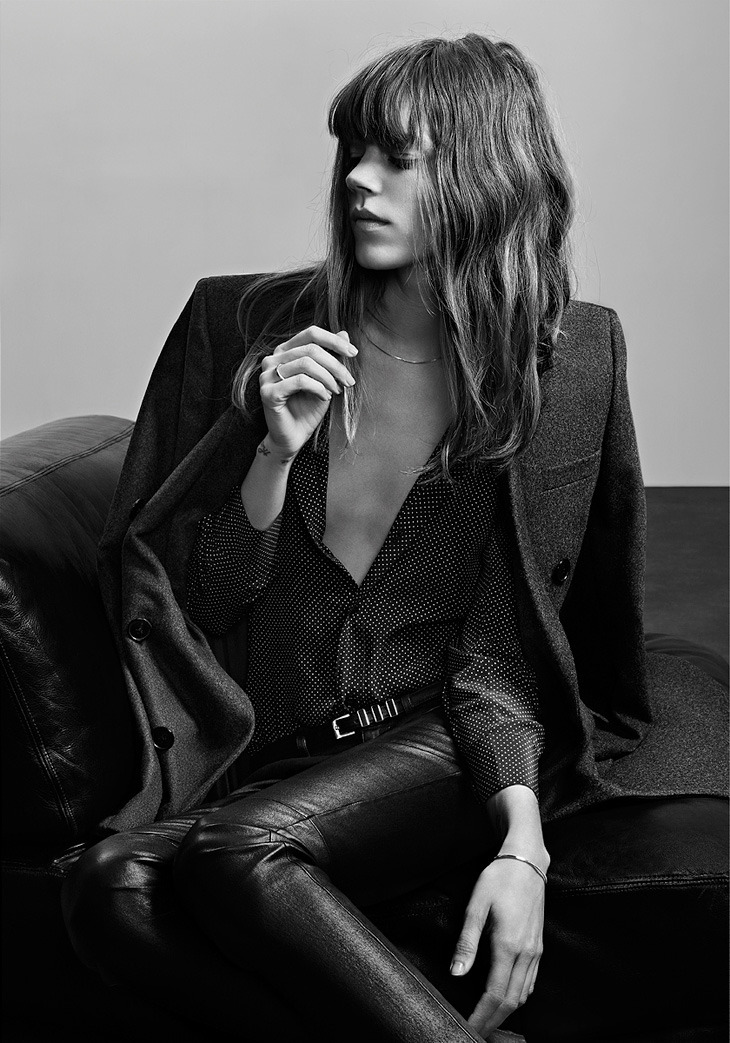 nevedamage:  Freja for Saint Laurent Paris