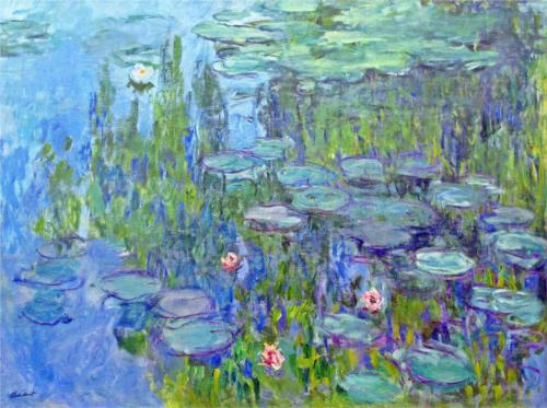 Water Lilies, 1914 ~ Claude Monet