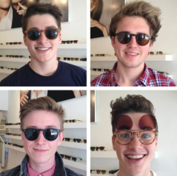 amazinggbritishboyss:  Shopping with the boys,@marcusbutlertv, @jacksgap, @finnharries So cute!- Tyler Oakley