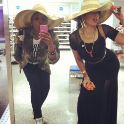 poppin' tags w/ @nitadarling .   circa :: #yesterday . (at ROSS)