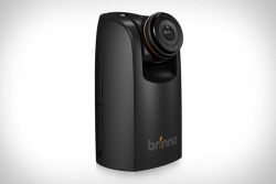The Brinno HDR time lapse camera features a 1.3 megapixel HDR image sensor that it uses to produce 720p time lapse video, with the ability to set the interval between frames from 0.3 seconds to 24 hours.