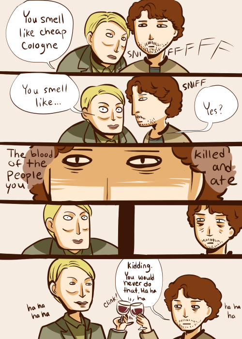 ineffableboyfriends:  oh look it's my first Hannibal comic