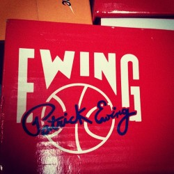 Big Ewing release news coming soon! #sneakers #sneakerhead #igsneakercommunity #ewing #33hi #knicks #kicks #nba #basketball #kicks #kotd #wdywt #shoegame #shoeporn #release