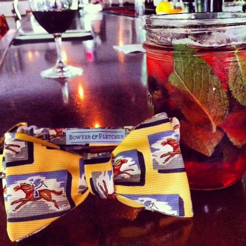 "Mint Juleps and Bow Ties! The Kentucky Derby is almost here! Enter ""Derby"" at checkout for 15% off! www.BowyerAndFletcher.com #mintjulep #kentuckyderby #2013 #bowtie #bowyerandfletcher #special #horseracing #races #andtheyreoff #churchilldowns #louisville #southerngent #gentleman #placeyourbets #seabiscuit #fastesttwominutesinsports #thoroughbred #colts #fashion #style #horsetrack #may #handmade"