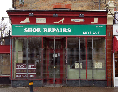 Shoe Repairs, Northcote Road SW11