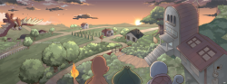 shinyeeveelution:  A Place Called Pallet Town by *seiryuuden