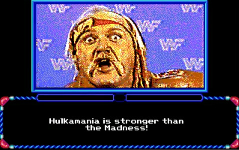 HULKAMANIA RUN WILD ON YOU!