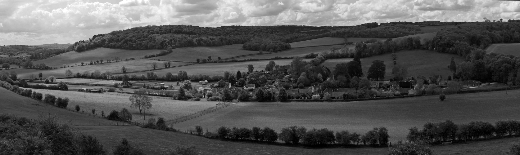 Idyllic on Flickr. A panorama of the village of Turville and the Hambleden Valley. Thanks for the likes and especially those who have commented on the photos I've posted in the last couple of days. Appreciate the kind thoughts.