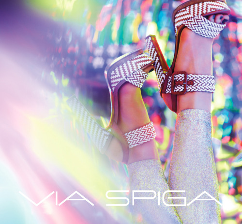 Via Spiga's Georgette - Spring 2013 National Campaign shot by Nick Knight