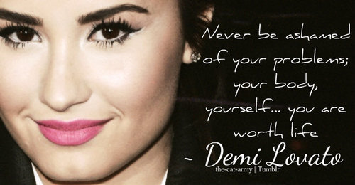ima-applelover:  (2) demi lovato quotes | Tumblr on @weheartit.com - http://whrt.it/161rLdE