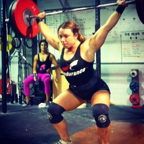 Xendurance sponsored team CrossFit Invictus is getting ready for regionals. The SoCal region is next week. #cfinvictus #overheadsquat #crossfitgirls #strong www.xendurance.com
