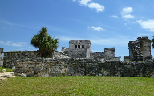 Tulum Ruins, Tulum Mexico. Eve and I just returned from a trip to Mexico. It was awesome! Can't wait to get back!!