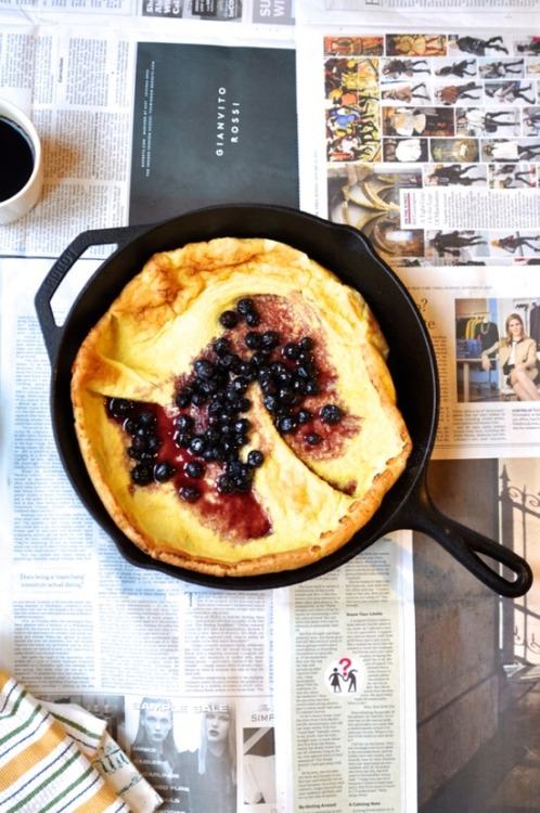 Eat This: Dutch Baby Pancakes.