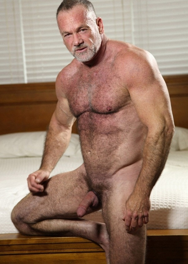 Older gay men hairy chest