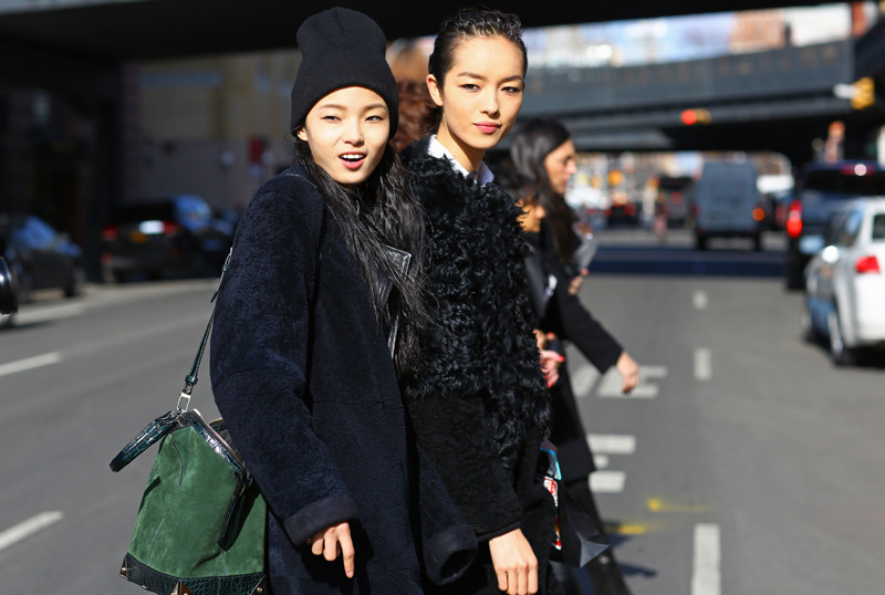 mr-vogue:  Fei Fei Sun and Xiao Wen Ju