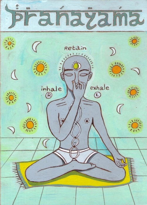 yogibe:  inhale… retain… exhale…