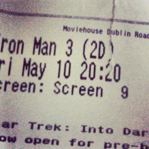 Iron Man 3 was amazing! =]