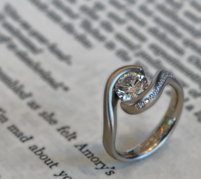 custom ring by J ALBRECHT DESIGNS