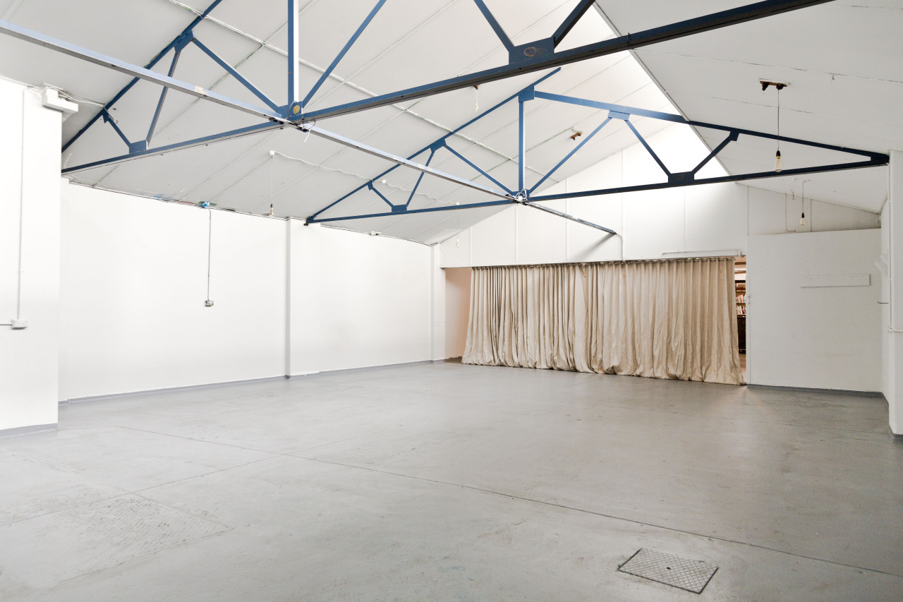 Interior image for The Baron Said, event space located in Fitzroy Melbourne, April 2013.