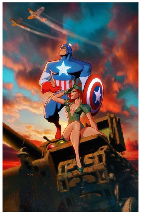 lulubonanza:  Captain America - The Movie by *Valzonline
