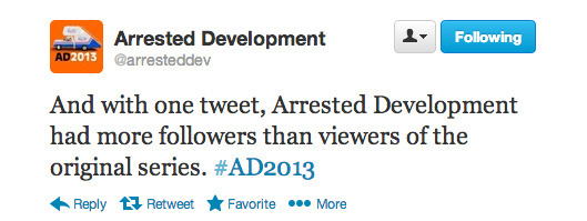 thebluthcompany:  A+ Follow the official Arrested Development twitter account