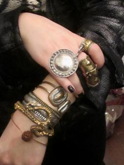 mermaidinacoma:  Bedouin Show Girls does street style! My adornments captured by the lovely Ashley Carter Cash at A Little Wicked, New York City.