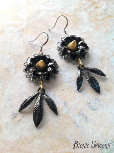 Coven of Crows Earrings by Bionic Unicorn