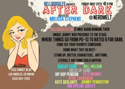 molls:  Los Angeles, be at this or play yourself.  i drew this, yay!