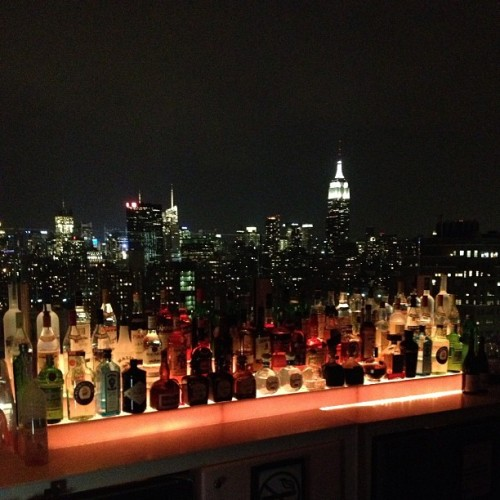 Yo! @facehunter book launch! #nofilter #nyc #lebain #view / on Instagram http://bit.ly/10YOkdJ