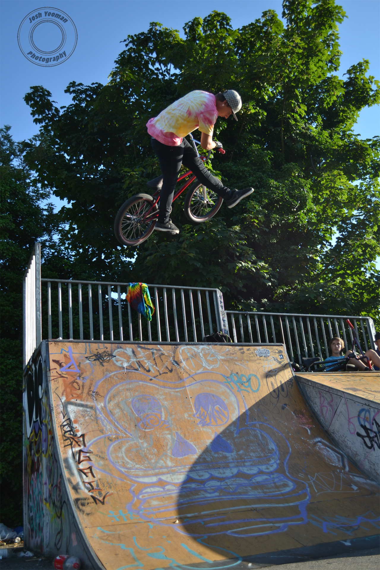 Ben Speller- Can Air to be completely honest, this is probably my favourite bmx picture that I've ever taken