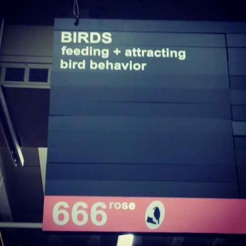 Apparently, when in Portland, even satan puts a bird on it. http://bit.ly/1182laN
