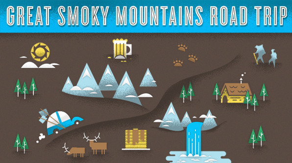 Take a road trip through America's most popular national park: Great Smoky Mountains!  Tip: Start exploring the park early in the morning to avoid crowds