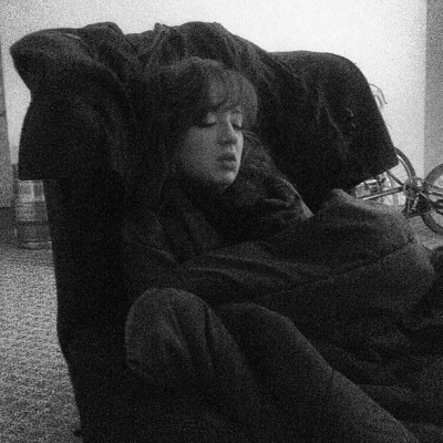 @eden_likethegarden in her natural state. #lolz #lol #iphoneonly #4s #sleepy #sleeping #sleep #broad #gonnakillme (at The College of New Jersey)