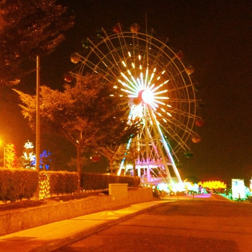 #night #stroll at i-city #park (at i city walk)