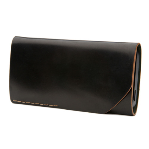Bison Made - Black Shell Cordovan iPhone 5 Wallet — ANCHOR DIVISION