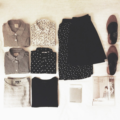 nobunnyluvsyou:  I just want all of those button downs and those shoes .___.