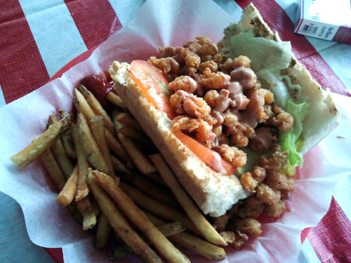Put some south in your mouth!  Preaux's Cajun Mudbugs & Shrimp - Yazoo City, Mississippi