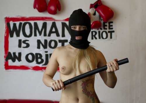 viceuk:  I SPENT THE WEEKEND WATCHING TOPLESS FEMINISTS PISS OFF NEO-NAZIS