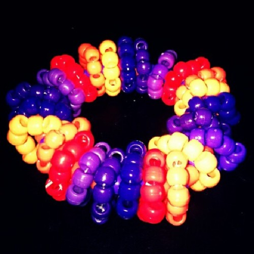 The Fruit Loop O-Cuff I made for my buddy Brian Hakes! Can't wait to rave with u! #ravers #plurfam #plurfamilyforlife #plurkandi