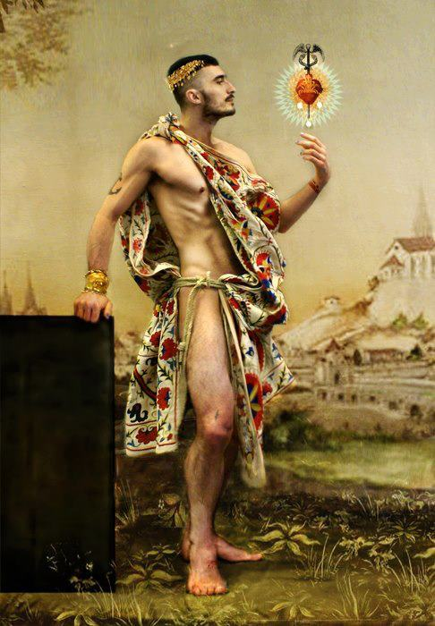 monsieurlabette:  'The love of God Hermes' by the gargantuan artistically endowed soul of Hector de Gregorio