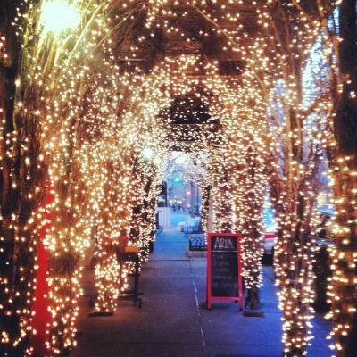 Pretty lights in West Village
