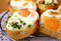 in-my-mouth:  Korean Egg Bread (Gaeran Bbang)