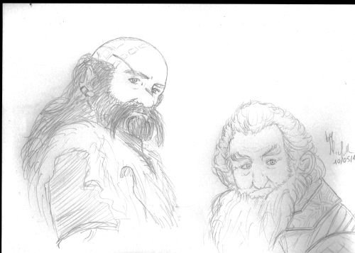 Kurenai 1 - Pencil 1 I love this sketch! Dwalin does miracles XD Can I say that this attempt is successful?