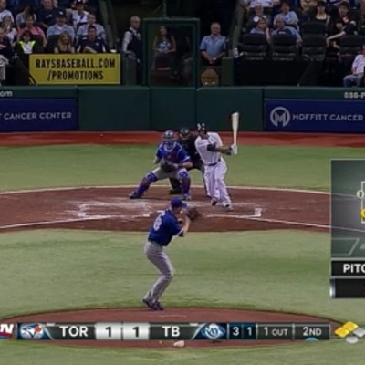 #mlb #bluejays #j.ahapp got hit with a line drive to his face hell of a hit, s/o tho