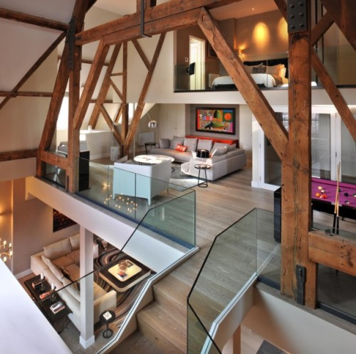 designed-for-life:  St Pancras Penthouse Apartment by Thomas Griem