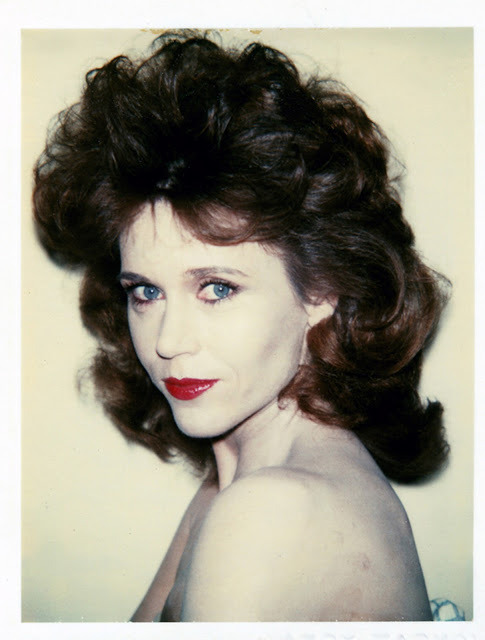 nearlyvintage:   Jane Fonda by Andy Warhol  1982