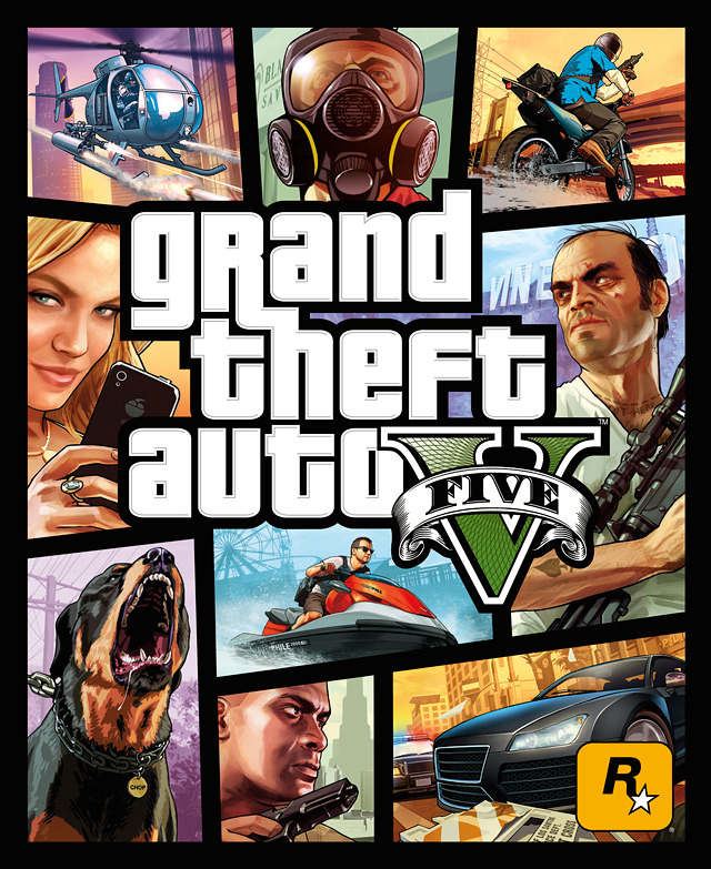 Here we have it, the official box art for Grand Theft Auto V. The design keeps the classic GTA look we all know and love. September needs to hurry along… GTA V is currently confirmed for PS3 and Xbox 360. One would expect a PC release at a later date, following the series' tradition. No word on a speculated next-gen release.