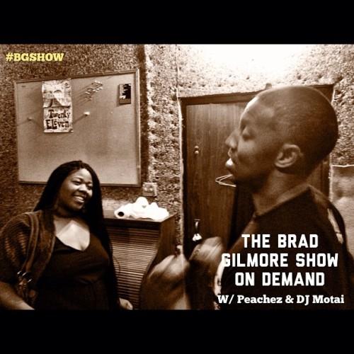 ogtatalapeachez:  Yesterday the first podcast edition of The Brad Gilmore Show on iTunes dropped a/ @killakyleon. I know I've been posting a lot of words, but this summer is time for work. Oh. My #askpeachez column debuted today as well on dayandadream.com check it out. Tell a friend.
