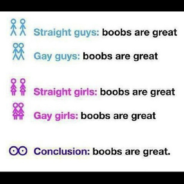 Basically. #boobs #great #funny